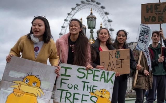 Thế giới hưởng ứng phong trào vì môi trường
