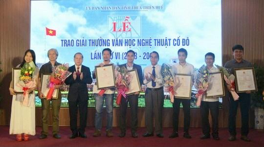 56 tác phẩm, công trình được trao giải thưởng Văn học Nghệ thuật Cố đô