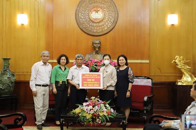 BẢN TIN MẶT TRẬN: MTTQ Việt Nam tiếp nhận ủng hộ phòng, chống dịch Covid-19
