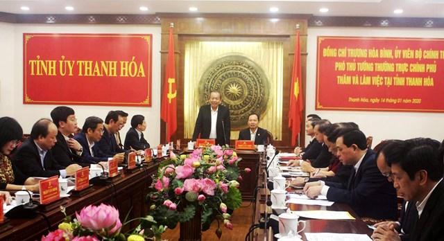 Thanh Hóa: Tập trung chỉ đạo tổ chức thành công Đại hội Đảng bộ các cấp nhiệm kỳ 2020-2025