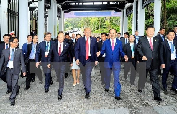 Thành tựu đối ngoại trong năm 2017: Vị thế mới, khí thế mới - 1