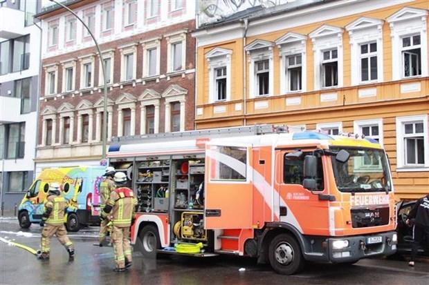 Đức: Cháy khu nhà do người Việt sở hữu ở Berlin, 12 người bị thương