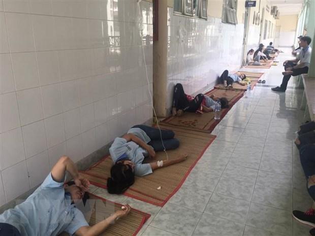 Bình Dương: 119 công nhân đã phải cấp cứu do hít mùi thuốc diệt mọt