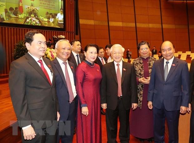 Khai mạc Kỳ họp thứ 9, Quốc hội khóa XIV - 1