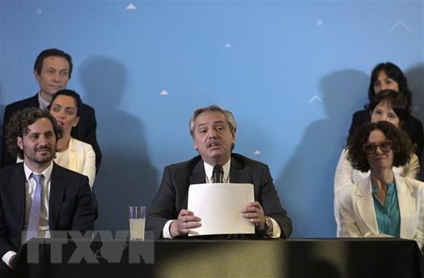 Tổng thống đắc cử Argentina công bố thành phần nội các mới
