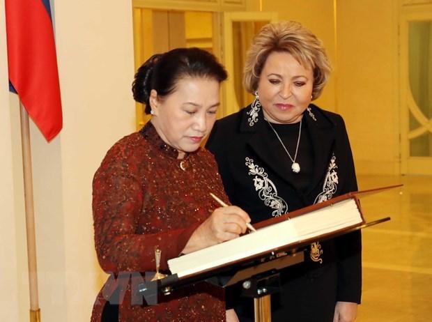 Chủ tịch Quốc hội phát biểu tại Phiên họp toàn thể Hội đồng Liên bang - 1