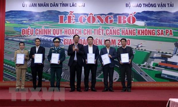 Lào Cai: Điều chỉnh quy hoạch chi tiết Cảng hàng không Sa Pa - 1