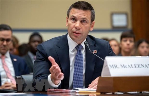 Mỹ: Quyền Bộ trưởng An ninh nội địa Kevin McAleenan từ chức