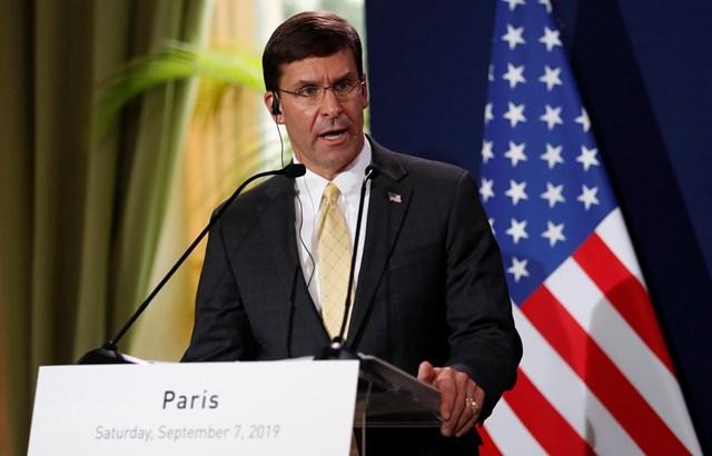 Bộ trưởng Quốc phòng Mỹ bác khả năng điều thêm quân tới Trung Đông