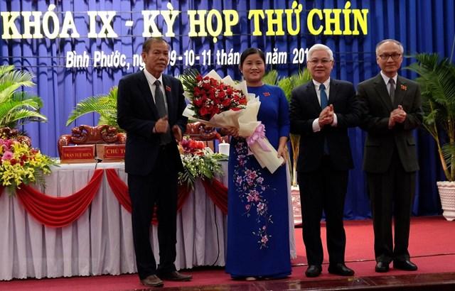 Bình Phước có tân nữ Chủ tịch tỉnh