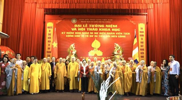 Phó Chủ tịch Ngô Sách Thực dự Đại lễ tưởng niệm 906 năm Ni sư Diệu Nhân viên tịch - 2