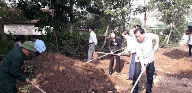 Lộc Hà (Hà Tĩnh): Làm mới, sửa chữa 58 nhà Đại đoàn kết