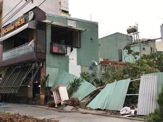 Bình Định, Phú Yên thiệt hại nặng do bão số 5 - 1