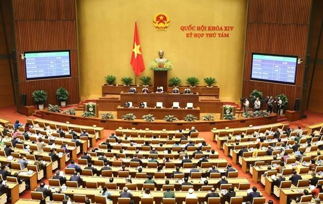Quốc hội họp phiên bế mạc kỳ họp thứ 8 - 1