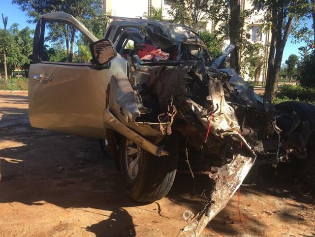 Gia Lai: Hai ô tô tông trực diện, 6 người thương vong - 1