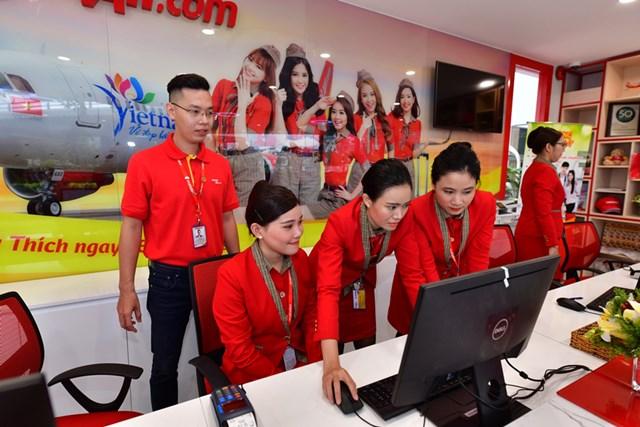 Vietjet khai trương phòng vé mới cùng tổ hợp dịch vụ toàn diện cho khách hàng - 4