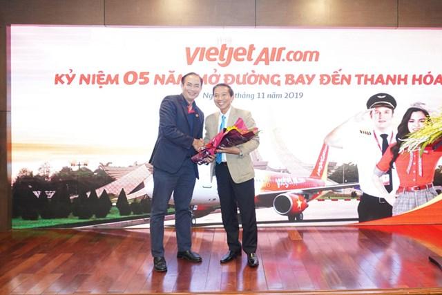 Vietjet phục vụ 2,2 triệu lượt hành khách sau 5 năm cất cánh tại Thanh Hoá - 2