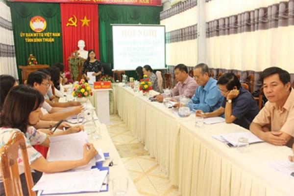 Bình Thuận:Vận động trên 15 tỷ đồng Quỹ 'Vì người nghèo'
