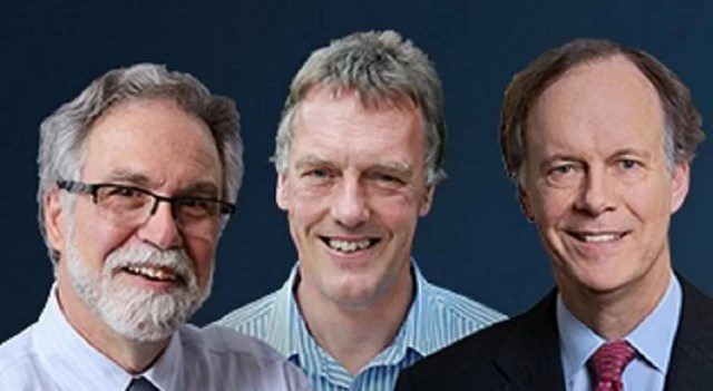 Ba nhà khoa học chung giải Nobel Y sinh 2019