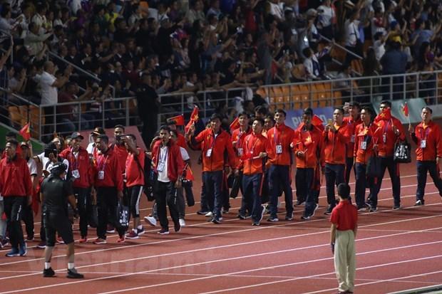 Việt Nam nhận cờ đăng cai SEA Games 31 từ Philippines - 1
