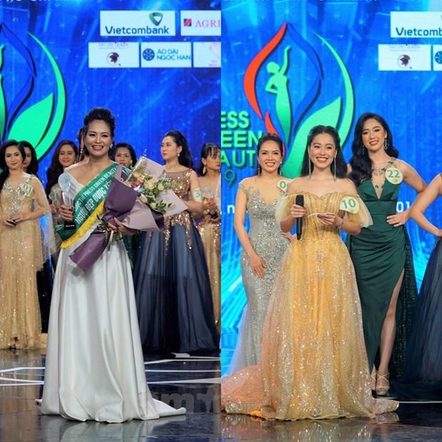 Đại diện VTV đoạt danh hiệu Hoa khôi Press Green Beauty 2019 - 4