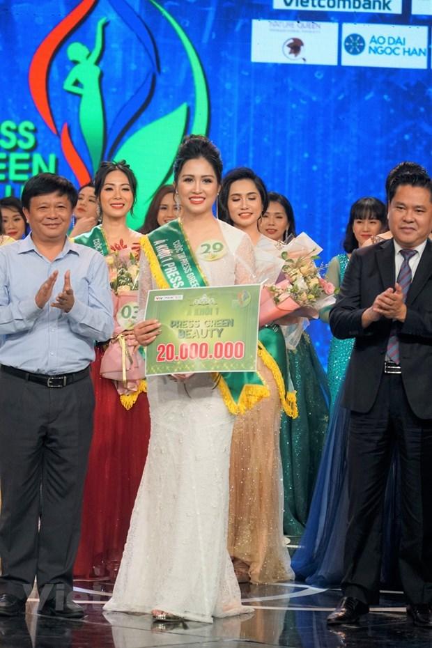 Đại diện VTV đoạt danh hiệu Hoa khôi Press Green Beauty 2019 - 2