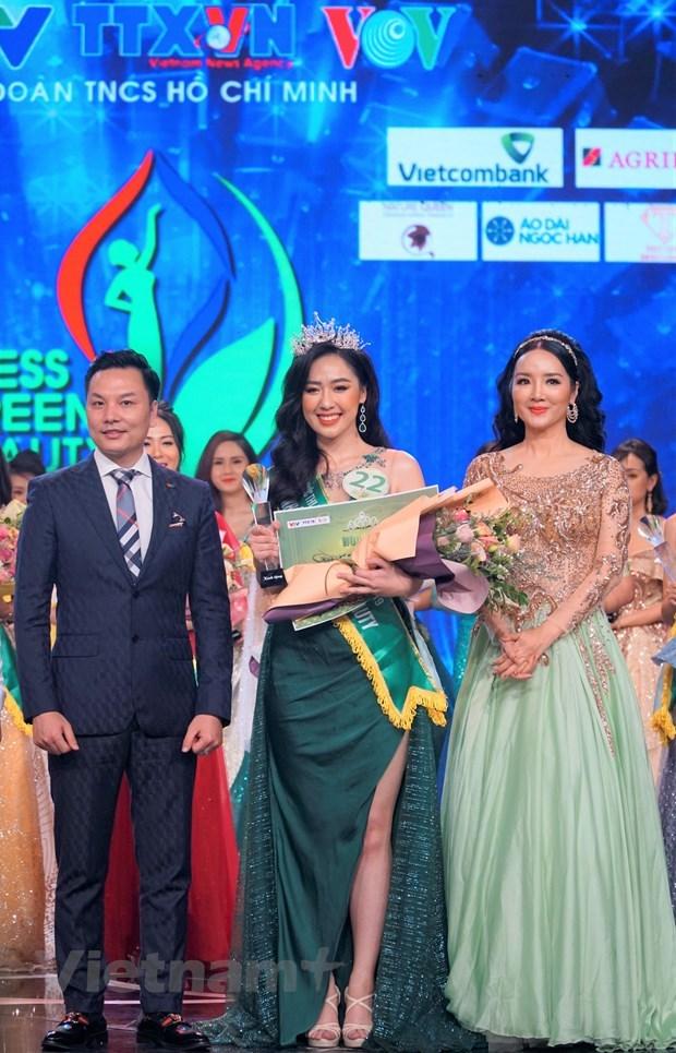 Đại diện VTV đoạt danh hiệu Hoa khôi Press Green Beauty 2019 - 1
