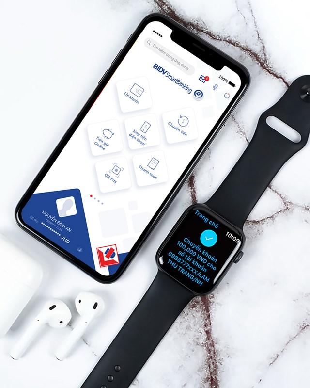 Ứng dụng ngân hàng trên Apple Watch - Bước tiến mới trong cuộc đua phát triển dịch vụ ngân hàng số - 2
