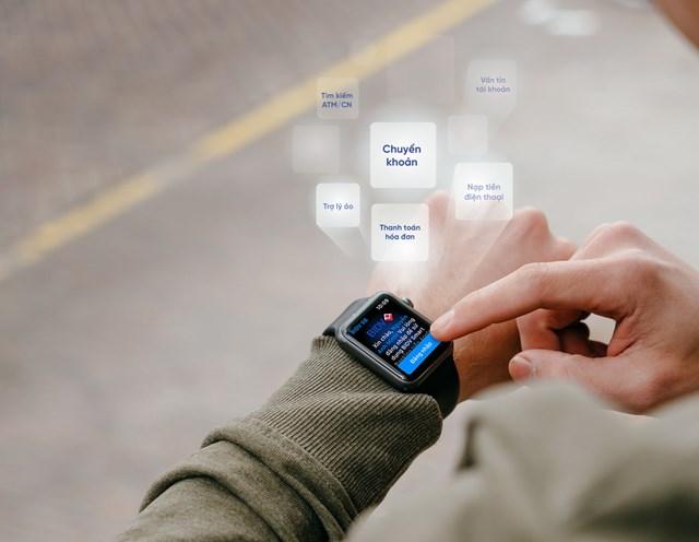Ứng dụng ngân hàng trên Apple Watch - Bước tiến mới trong cuộc đua phát triển dịch vụ ngân hàng số - 1