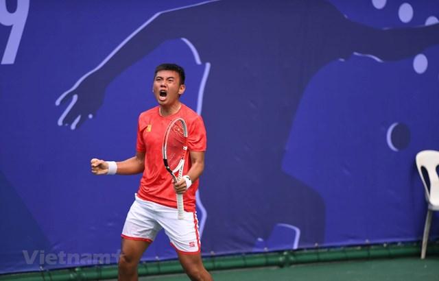 Quần vợt Việt Nam giành tấm huy chương Vàng lịch sử tại SEA Games