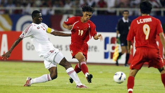 Đội tuyển Việt Nam chưa từng thắng UAE tại vòng loại World Cup