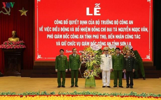 Phó Giám đốc Công an Phú Thọ giữ chức Giám đốc Công an Sơn La - 1