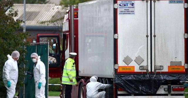 39 nạn nhân thiệt mạng trong container tại Anh đều là người Việt