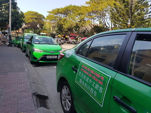 Quảng Nam: Thành lập đội xe taxi vận chuyển khách du lịch nói tiếng Hoa
