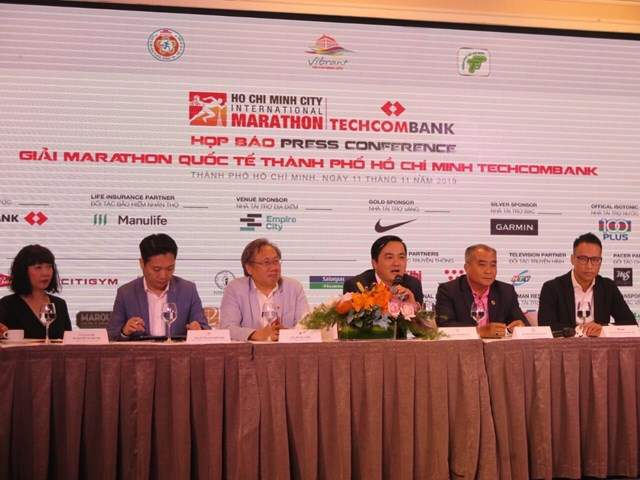 Gần 13.000 người tham gia Giải Marathon Quốc tế TP HCM Techcombank năm 2019