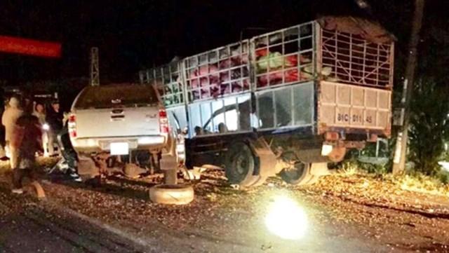 Gia Lai: Hai ô tô tông trực diện, 6 người thương vong