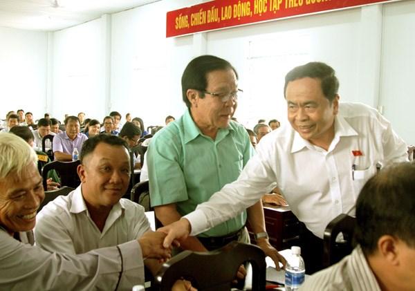 Chủ tịch Trần Thanh Mẫn tiếp xúc cử tri tại Cần Thơ - 2