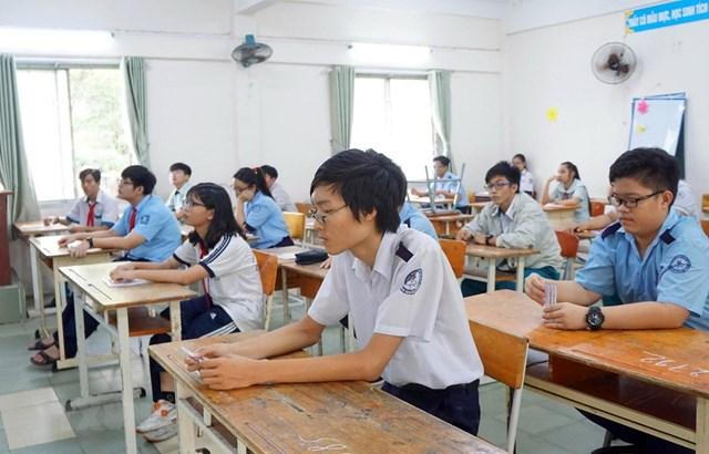 Điểm chuẩn vào lớp 10 công lập tại TP HCM: Hầu hết các trường đều giảm