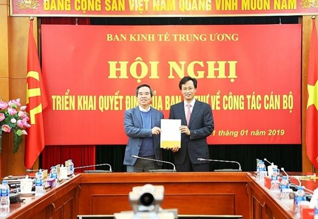 Ông Nguyễn Hữu Nghĩa được bổ nhiệm làm Phó trưởng Ban Kinh tế TƯ