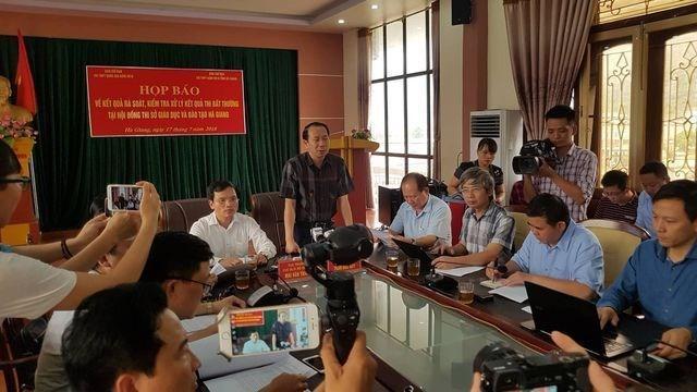 Gian lận thi cử Hà Giang: 'Lên kế hoạch' nâng điểm trước hơn 1 tháng