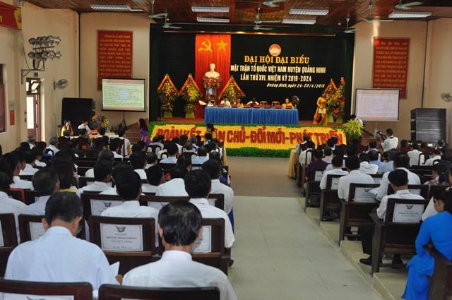 MT huyện Quảng Ninh: Phát huy sức mạnh khối đại đoàn kết toàn dân