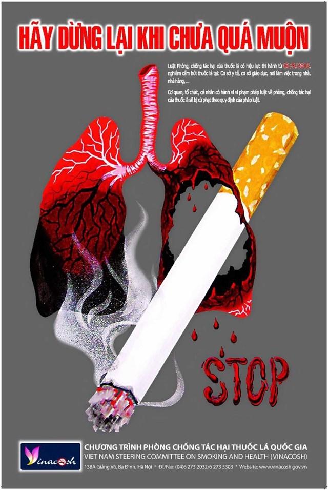 Nguy hiểm khó lường từ thuốc lá