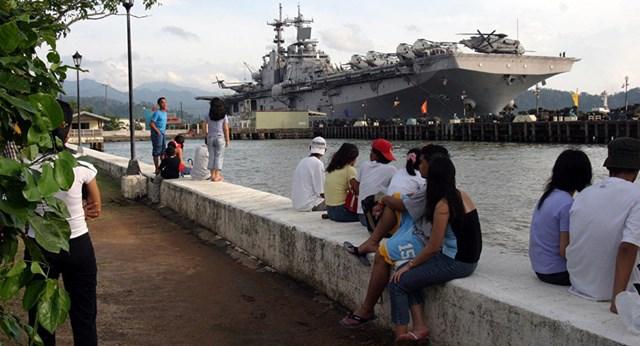 Philippines lo ngại Trung Quốc sẽ tiếp quản căn cứ hải quân cũ tại Biển Đông