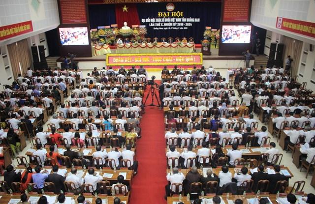 Ông Võ Xuân Ca tái đắc cử Chủ tịch MTTQ tỉnh Quảng Nam - 4