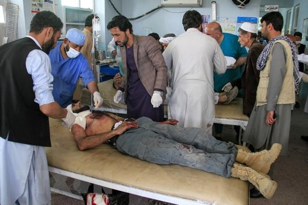 Nổ lớn tại trường đại học ở Afghanistan khiến nhiều người thương vong