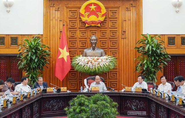 Thường trực Chính phủ họp về 2 Nghị định gỡ vướng cho dòng chảy kinh tế - 1