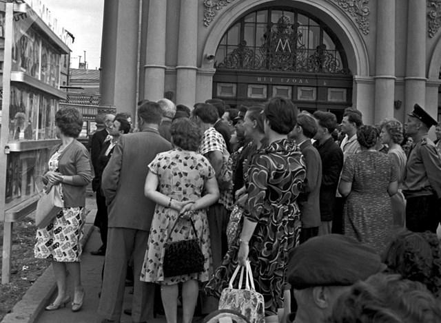 [ẢNH] Kỷ niệm 84 năm 'Moscow Metro': Chuyến tàu vượt 'thời gian' đẹp nhất thế giới - 1