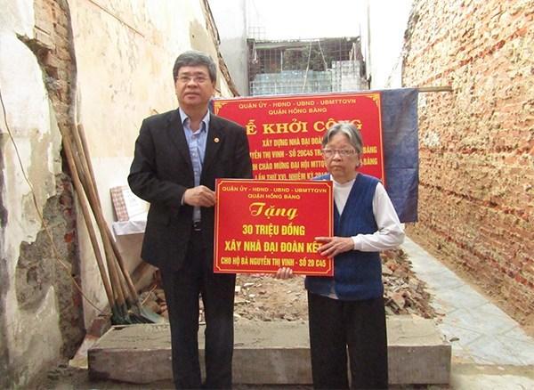 Hướng tới Đại hội MTTQ Việt Nam các cấp, nhiệm kỳ 2019-2024: Lo chốn an cư cho người nghèo