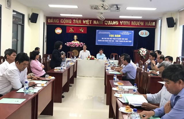 'Vai trò của Mặt trận Tổ quốc Việt Nam trong giai đoạn hiện nay – Thực trạng và giải pháp' - 1