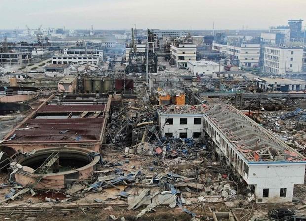 Trung Quốc: Nổ phân xưởng công nghệ sinh học, nhiều người thương vong